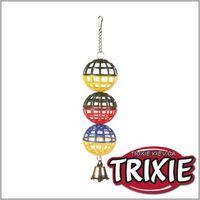 TRIXIE TX-5251 3 пластиковых шарика для птиц TRIXIE
