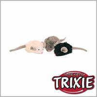 TRIXIE TX-4199 Мягкие мышки с микрочипом для кошки TRIXIE