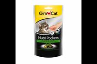 Подушечки Gimcat NutriPockets с кошачьей мятой и мультивитаминами