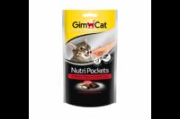 Подушечки Gimcat NutriPockets говядиной и солодом