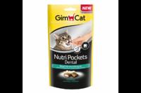 Подушечки Gimcat NutriPockets Dental для очистки зубов