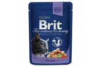 Влажный корм Brit Premium Треска для взрослых кошек