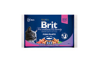 Влажный корм Brit Premium Ассорти Рыбная тарелка
