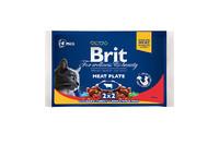 Влажный корм Brit Premium Ассорти Мясная тарелка