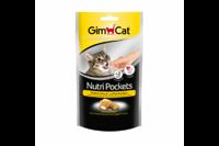 Подушечки Gimcat NutriPockets с сыром и таурином