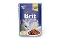 Влажный корм Brit Premium Кусочки филе говядины в желе