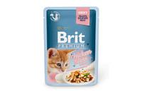 Влажный корм Brit Premium куриное филе в соусе для котят