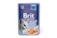 Влажный корм Brit Premium Кусочки из филе лосося в желеВлажный корм Brit Premium Кусочки из филе лосося в желе