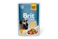 Влажный корм Brit Premium филе тунца в соусе