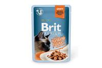 Влажный корм Brit Premium филе индейки в соусе