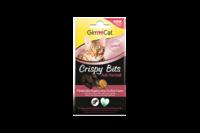 Хрустящие мясные шарики для выведения шерсти Gimcat Crispy Bits
