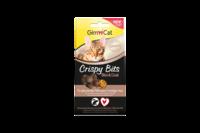 Хрустящие мясные шарики для кожи и шерсти Gimcat Crispy Bits