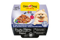 Gimdog Фрути Меню Рагу из говядины, лесных ягод и овощей, 100г