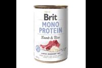 Brit Mono Protein Dog k 400 g для взрослых собак с ягненком и темным рисом