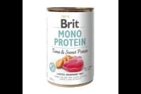 Brit Mono Protein Dog k 400 g для взрослых собак с тунцом и бататом